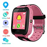 Kids Phone Smart Watch for 3-12 Year Boys Girls Touch Screen SOS Anti-lost