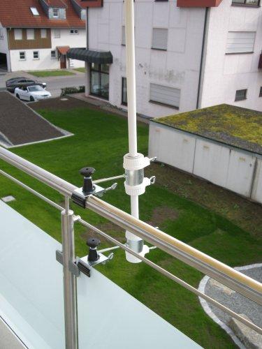 Parapluie de bâtons à 25,5 ø 47 mm-lot de 1-support jusqu'à 40 mm acier inoxydable de lARGE-distance support de parasol pour balcon ou pour l'extérieur à l'intérieur 11 cm hauteur de fixation de parapluie holly-produit breveté pour fixation rond ou éléments de carré 2 à 40 mm avec 3 prises au rayon inox-support réglable pivotant à 360° avec fixation kratzfreien gUMMISCHUTZKAPPEN à 360°-support orientable pour parapluie avec espacement plots-bâtons de 25,5 à 13 mm ø 45 cm avec enregistrement douille profonde 11 cm-distance long bec pivotant filetage-axe-innovation fabriqué en allemagne-holly ® produits sTABIELO-holly-sunshade ® sCHIRMEN à sur - 2,5 cm de diamètre 2 supports de fixation ou 2-te utiliser pour des raisons de sécurité (kabelbinder)