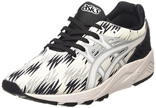 Asics Gel-Kayano Trainer Evo Unisex-Erwachsene Low-Top Schwarz (black/white 9001)