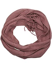 Ladies Knitted Scarf with Metallic Thread by RJM GL297