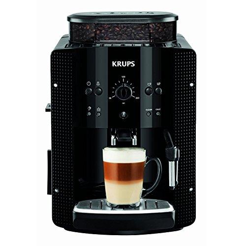 Krups Essential EA8108 Kaffeevollautomat | Espresso und Kaffee | mit CappucinoPlus- Milchdüse | individuell einstellbar…