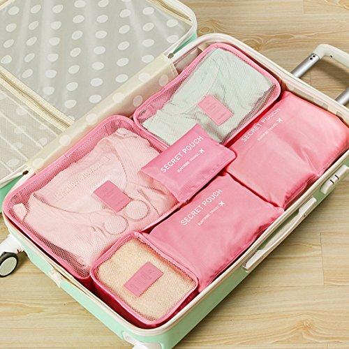 Likeluk - Portatrajes de viaje , Rosa (rosa) - 9I154756RF7RG567