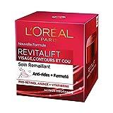 L'Oréal Paris - Revitalift - Soin Remaillant Visage Contours et Cou - Anti-Rides & Extra-Fermeté - Anti-Âge - 50 mL