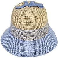 HY-Visor Shopping Rafi straw hat female summer handmade cute spell beanie hat collapsible sun hat