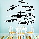Armée de chasse auto-adhésif vinyle étanche Wall Art Stickers pour chambres...