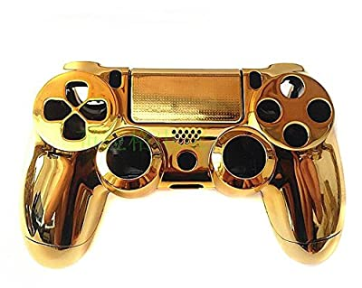 Feicuan Gold Chrome Full Housing Shell Case Cover for Playstation 4 PS4 Controller from Guangzhou Ake Information Technology Co., LTD