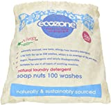 Ecozone Soap and Indian Wash nuts replaces laundry powder and detergents, 300g bag, 100 washes.