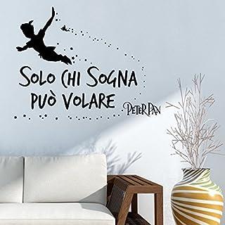 Adesiviamo® Wandtattoo, italienischer Schriftzug