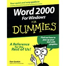 Word 2000 for Windows For Dummies