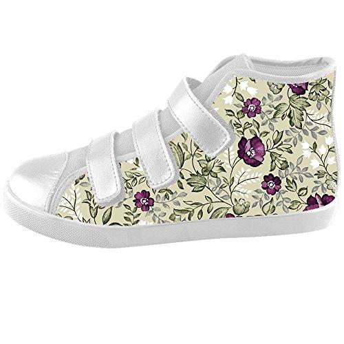 Dalliy Floral Flower Kids Canvas shoes Schuhe Footwear Sneakers shoes Schuhe D