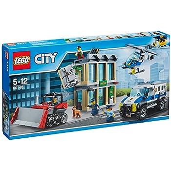 Lego city jeu de construction la moto de police - Jeux de motos de police ...