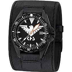 KHS Tactical Watches MissionTimer 3   Eagle One KHS.MTE.LK Militär Armbanduhr