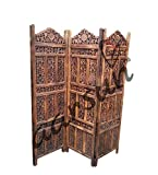 Aarsun Handcrafted Wooden Partition Scre...