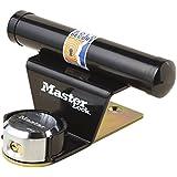 Master Lock 1488EURDAT  Barre de sécurité pour porte de garage basculante avec serrure à clé (antivol pour porte de garage)