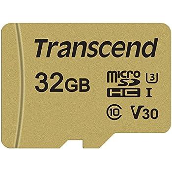 Transcend USD500S - Tarjeta microSD de 32 GB, microSDHC ...