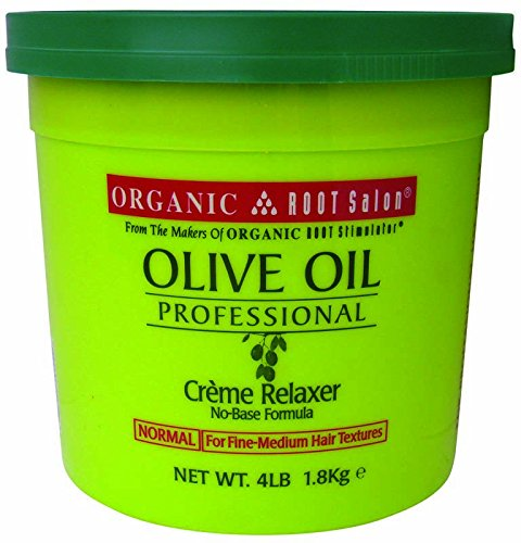 Professional Creme Relaxer (Relaxer / Glättungscreme Organic Root Stimulator Olive Oil Professional Creme Relaxer. REGULAR)