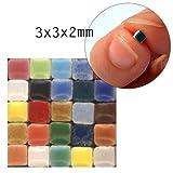 Mini Mosaico (3x3x2mm), 1000 pezzi, MXAL