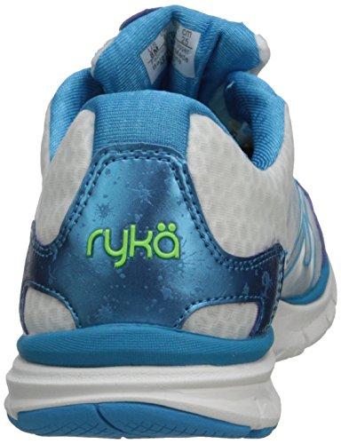 Ryka Dynamic Synthétique Baskets Wht-Blu-LtGr