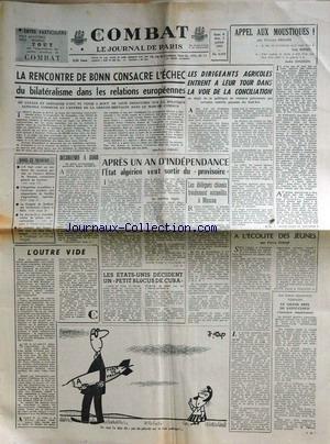 COMBAT [No 5888] du 31/05/1963