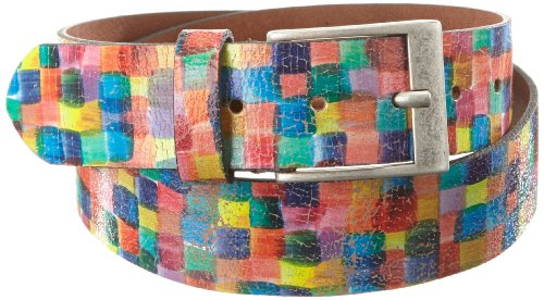 mgm-womens-belt-multicoloured-mehrfarbig-quadrato-l