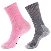 Laulax Ladies 2 Pairs of Thick Wool Outdoor Socks