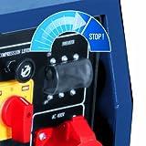 Einhell Diesel Stromerzeuger BT-PG 5000 DD (Drehstrom, 4200 W Dauerleistung, 6,3 kW, 418 cm³ Hubraum, 16 l Tank, 2×230 V/1×400 V/1×12 V Steckdose) - 3