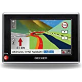 Becker Traffic Assist Z205 Navigationsgerät mit TMCpro (10,9 cm (4,3 Zoll) Display, Kartenmaterial Europa 40 aus 2010, 3D-View, Bluetooth, Sprachsteuerung)
