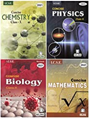 Selina ICSE Concise Chemistry for Class 10 (2020-2021) Session + Selina ICSE Concise Physics for + Selina ICSE