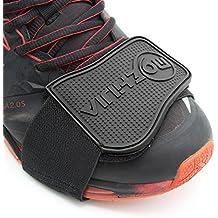 Xcellent Global Protector de zapato de Moto Cubre Botas Ayuda para el  Cambio Negro AT022 05eed81968