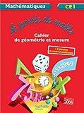 A portée de maths CE1 - Cahier d'exercices - Ed. 2012