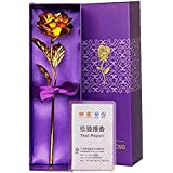 G.S. 24K Gold Rose 10 Inches With Gift Box
