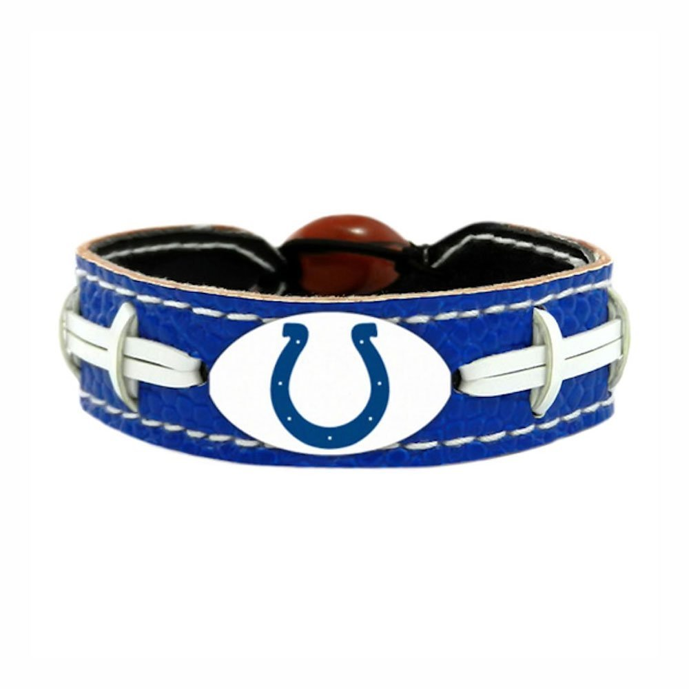 Indianapolis Colts Team Color NFL Football Bracelet