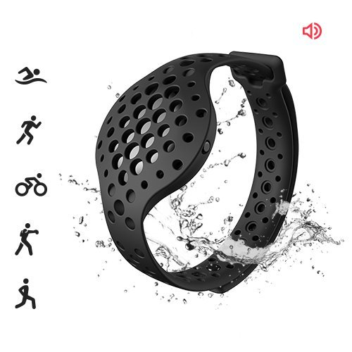 Moov Now 3D Fitness Tracker and Real Time Audio Coach (Stealth Black)