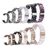 xue binghualoll für Apple Watch 3/4 schildpatt Harz Armband Armband Armband 42mm