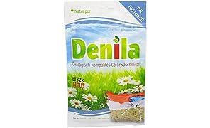 Denila - eco - bio - Color détergent universel - écologique - bio-dégradable - Allergic adapté - avec parfum de bouleau - respectueuses de l'environnement - 1 cycle de lavage seulement 3 g - optimal sur les voyages - achetez-vous et vous donnez un bon sentiment