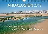 Andalusien - Landschaften rund um Conil de la Frontera (Wandkalender 2019 DIN A4 quer): Landschaften eines andalusischen Küstenorts (Monatskalender, 14 Seiten ) (CALVENDO Orte) - Doris Müller