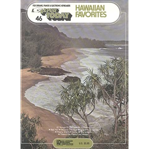 Ez Play Music Hawaiian Favorites for All Organs Piano & Guitar