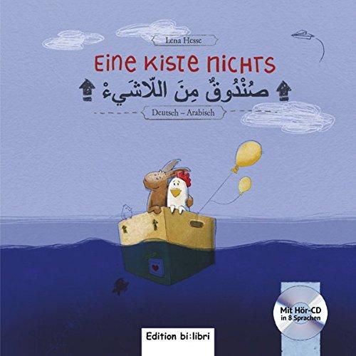 Eine Kiste Nichts: Kinderbuch Deutsch-Arabisch mit Audio-CD