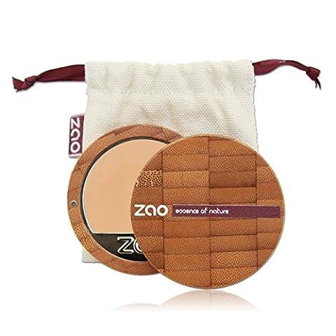 ZAO Compact Foundation 729 rosa-elfenbein hell-beige-pink, Kompakt-Makeup Grundierung in nachfüllbarer Bambus-Dose (bio, vegan) (Olive Creme Foundation)