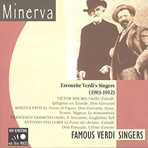 Verdi's Favorite Singers, 1903-1912 (Famous Verdi Singers) by Various Artists (2000-10-17) - 2000 Corsa