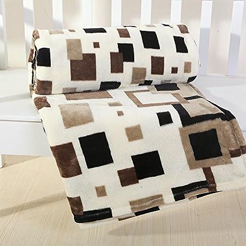 BDUK Fallay Lint-Free panno coperta di flanella 4 trimestre Multi-Process colore puro coperte timbro singolo doppio impianto di condizionamento dell'aria è