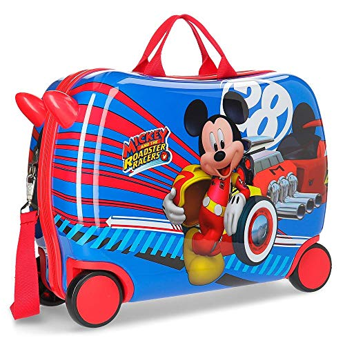 Disney world mickey valigia per bambini 50 centimeters 39 multicolore (multicolor)