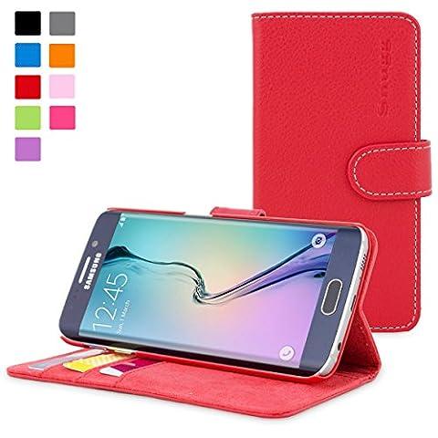 Coque Galaxy S6 Edge, Snugg Samsung Galaxy S6 Edge Etui