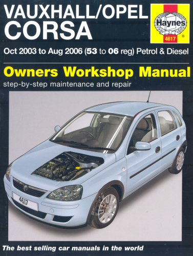 vauxhall-opel-corsa-petrol-and-diesel-service-and-repair-manual-2003-to-2006-haynes-service-and-repa