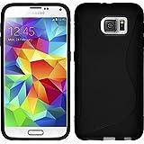 PhoneNatic Case für Samsung Galaxy S6 Hülle Silikon schwarz S-Style Cover Galaxy S6 Tasche Case