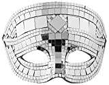 WIDMANN 1622–Maske Discokugel Unisex, Grau, Einheitsgröße