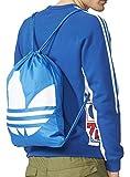 adidas Gymsack Trefoil - Borsa, Unisex, blu/bianco