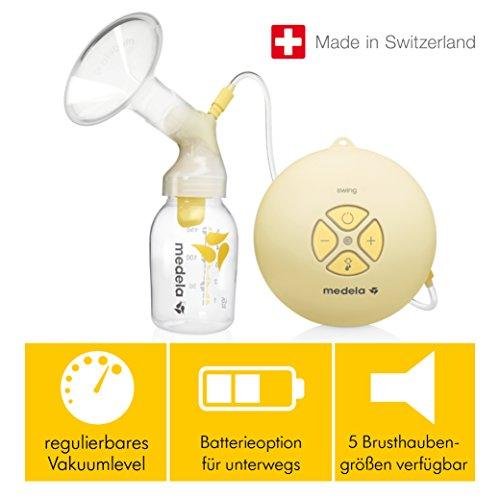 Milchpumpe Medela Swing - elektrische Milchpumpe, Schweizer Medizinprodukt - 6