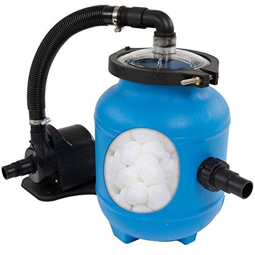 4000 Pool (Miganeo® Speed clean 4000 Schwimmbadpumpe für Pool bis 14.000 Liter , inklusive Filter Balls)