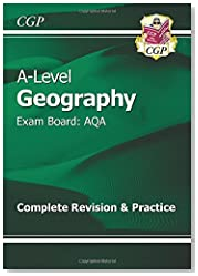 New A-Level Geography: AQA Year 1 & 2 Complete Revision & Practice